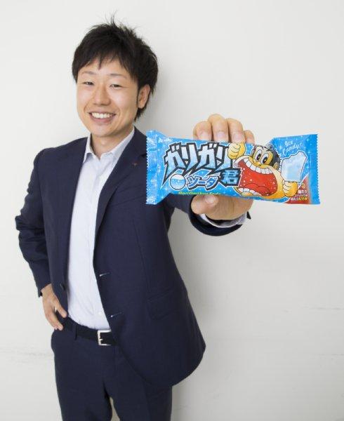 『ガリガリ君』の新フレーバー開発を語る赤城乳業の岡本秀幸さん