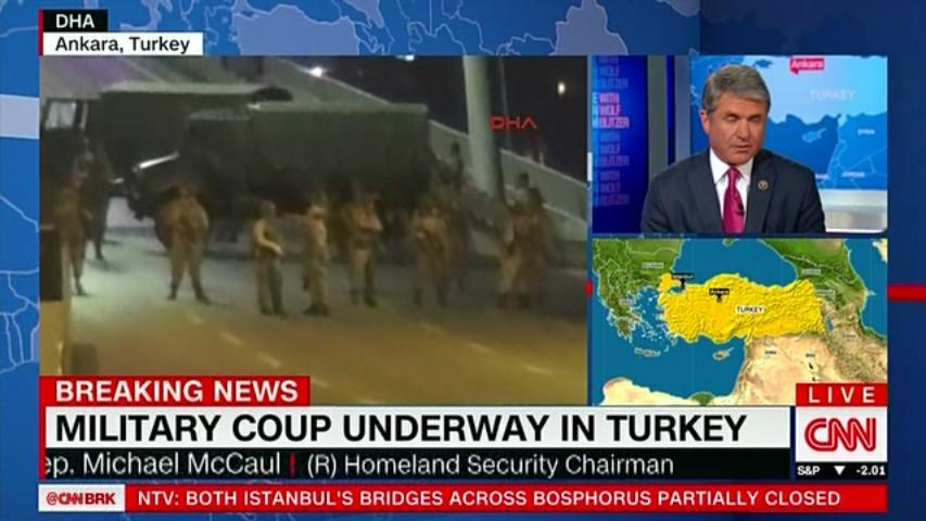 トルコでクーデター