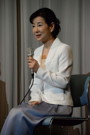 吉永小百合「戦後が続いてほしい」平和への思い語る