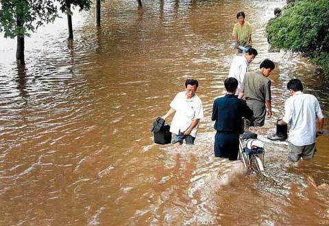 北朝鮮「助けて!洪水被害が!」 日本「支 援 し ま せ ん」