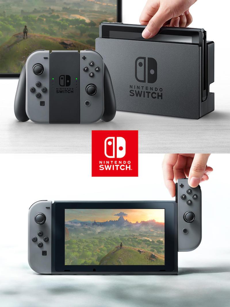 任天堂の新ゲーム専用機の名はNintendo Switch