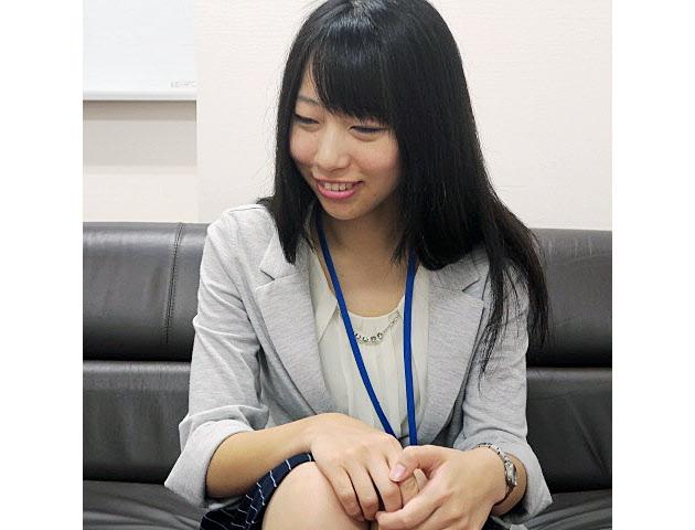 召田春花さんは「タクシードライバーはホワイトな仕事。後輩に勧めたい」と話す