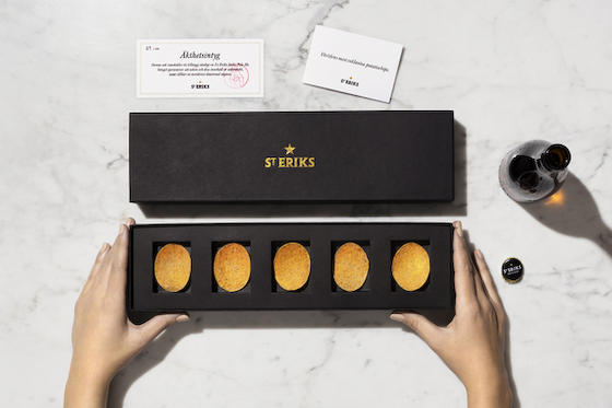 The world's most exclusive potato chips
