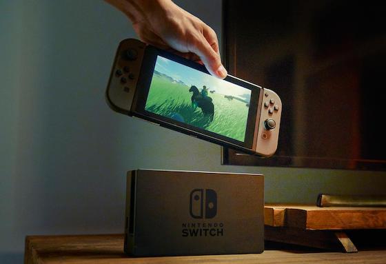 任天堂の新ゲーム機 Nintendo Switch 2017年3月発売予定