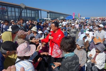 新曲「北海無法松」の発売記念イベントを行った細川たかし
