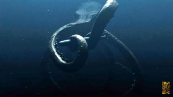 南極の地下3800mでボストーク湖の掘削調査を行っていたロシアの研究チームが、未知の大型生物と遭遇