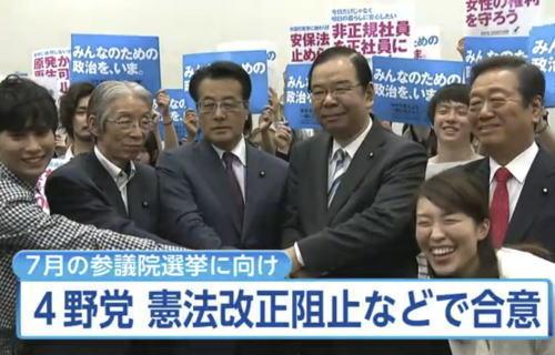 朝日 自公が国政選4連勝 「後出し改憲」に信はない