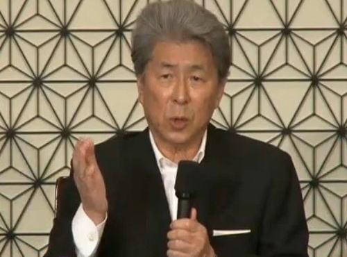 鳥越俊太郎氏(76)記者会見で、大腸がんステージ4だったと明かす
