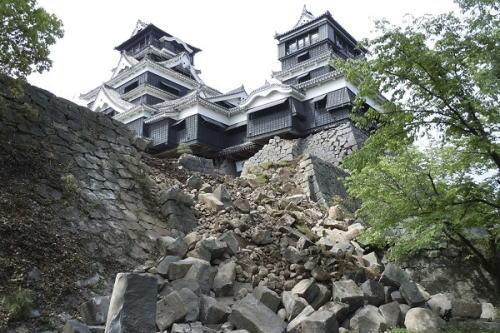 """ポケモン 立ち入り規制の""""熊本城""""外すよう市が任天堂に抗議"""