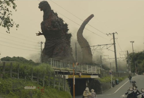 ハリウッド版をすら凌駕する、これぞ2016年の日本にふさわしい新ゴジラ