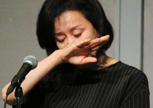 高畑淳子、自身の今後に「舞台をお見せするのが私の贖罪です」…長男逮捕の謝罪会見で