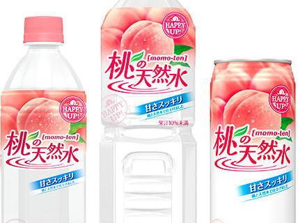 サントリー「桃の天然水」、「ルーツ」が復活