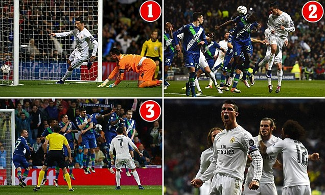 Ronaldo nets hat-trick as Spanish giants complete stunning turnaround to reach sixth successive Champions League semi-final