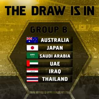 2018 FIFA World Cup Russia Asian Qualifiers Final Round Draw guoup B