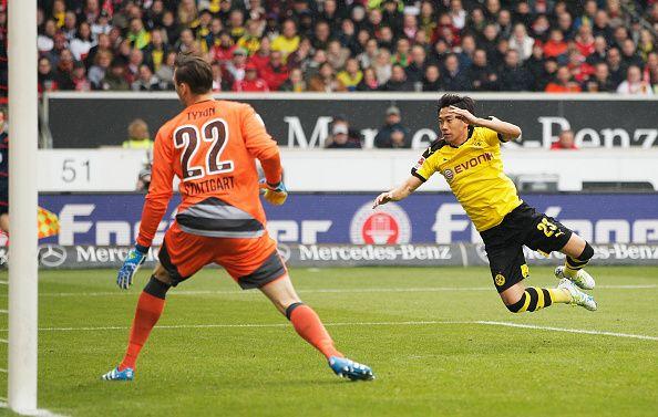 Stuttgart 0-3 Dortmund (Kagawa,Pulisic,Mkhitaryan)