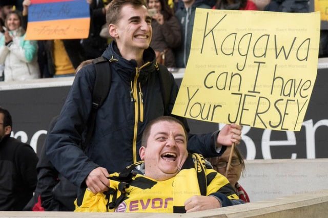 kagawa can i have your jersey