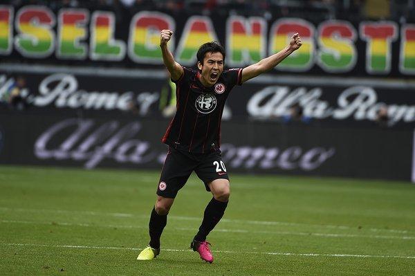 hasebe makoto Eintracht Frankfurt 2-1 mainz
