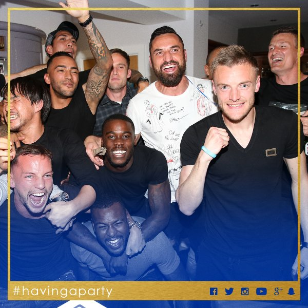 Jamie Vardy is #havingaparty2
