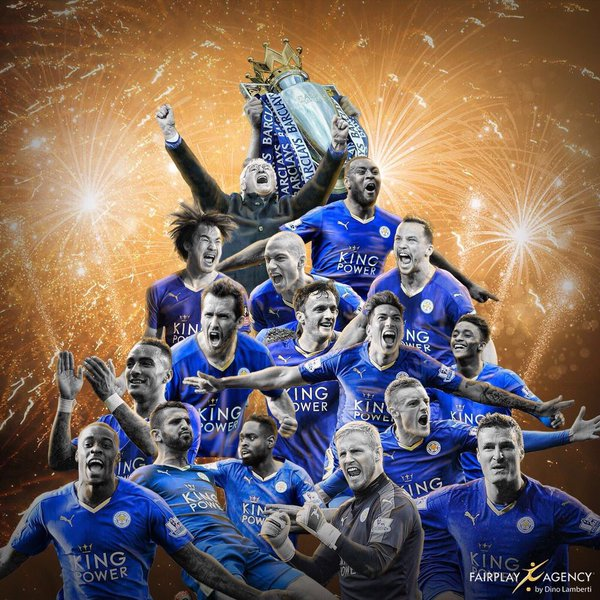 Words can not describe this feeling! champions #lcfc