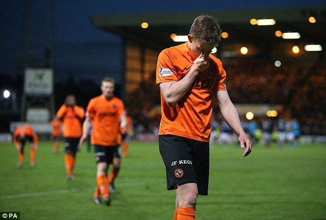 Dundee United relegated after loss to rivals Dundee