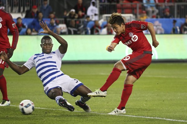Endoh the hero as Toronto FC victorious in home opener