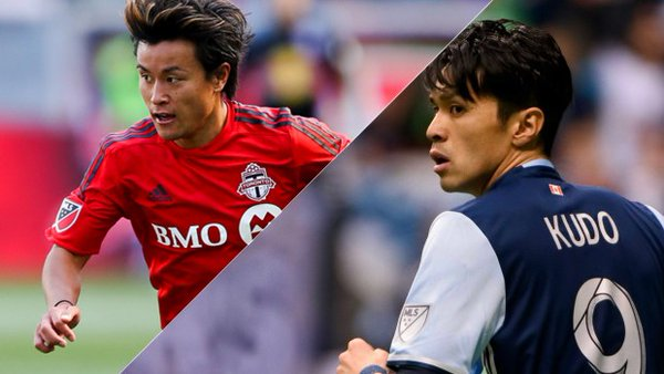 Tsubasa Endoh Masato Kudo score their first MLS goals