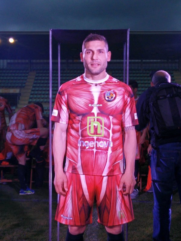 Club Deportivo Palencia have the strangest kit ever