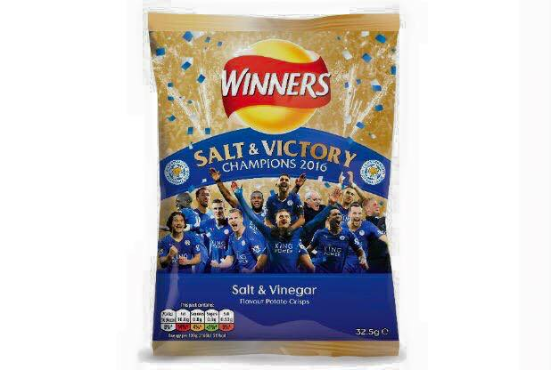 Walkers Crisps to produce Salt Victory crisps in honour of Leicester City
