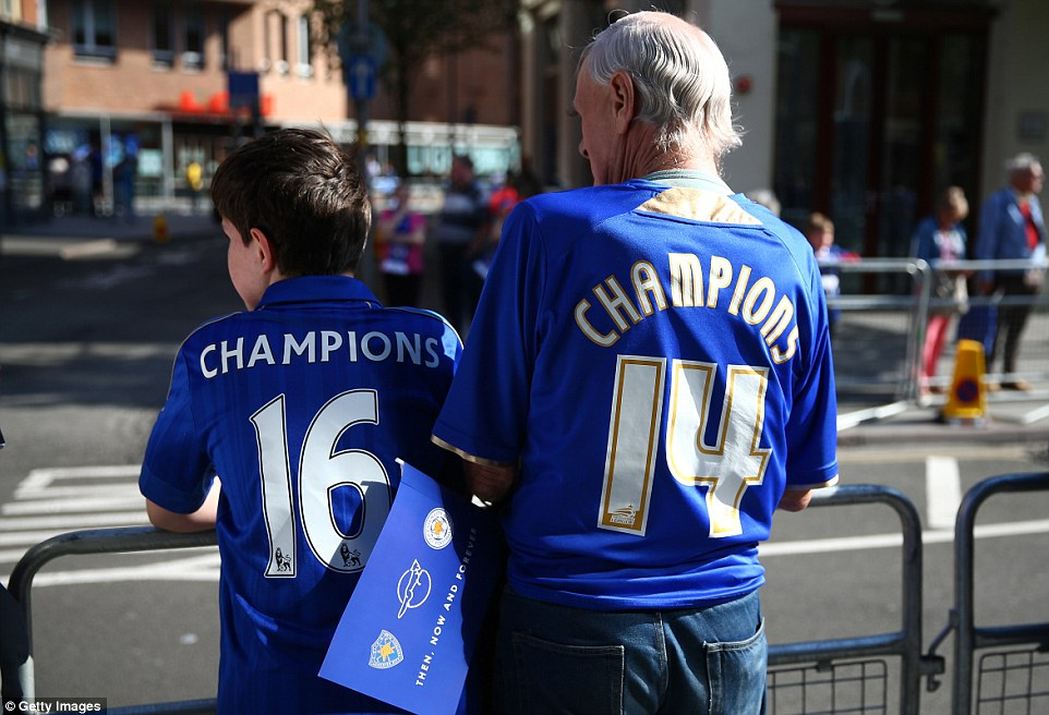 Leicester supporters are not new to title parades - in 2014, they celebrated winning the Championship with a bus journey around the city