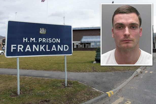 Adam Johnson in jail