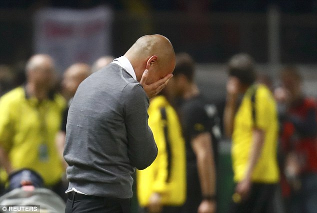 Pep Guardiola was left in tears after his side won the German Cup final in his last game as Bayern Munich boss