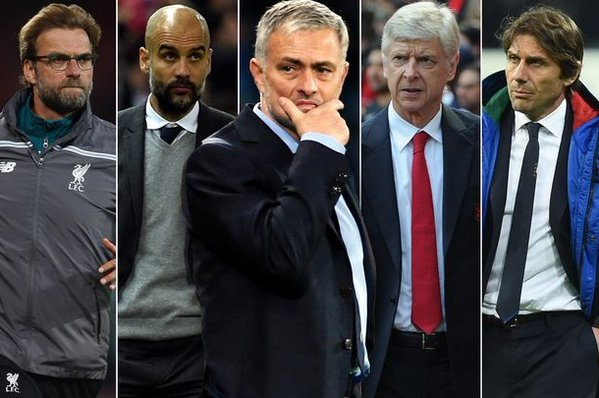 Which Premier League managerial titan will finish highest next season 16_17