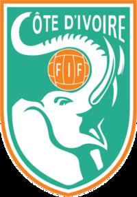 Ivory Coast football emblem