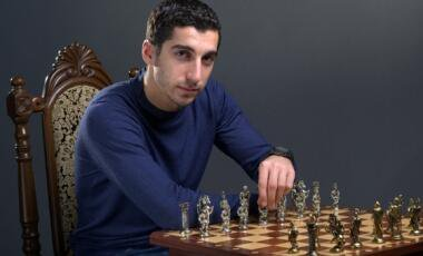 Just spotted Henrikh Mkhitaryan at my local chess club