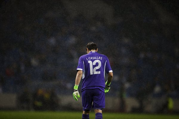 Iker Casillas to his Porto teammate Suk Hyun-jun