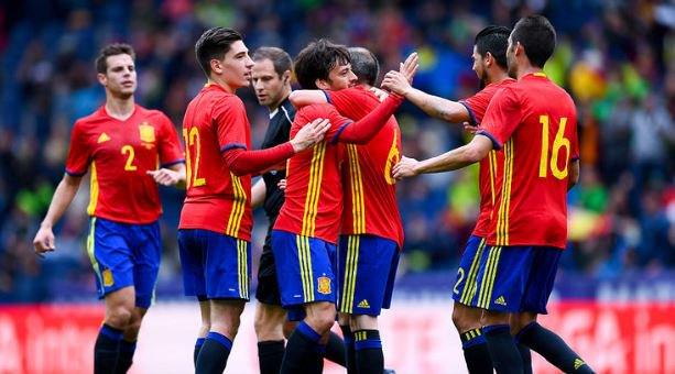 Spain v South Korea 6-1