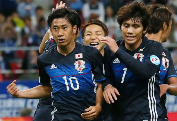 jfa_samuraiblue impressive with 7-2 hammering of @Bulgaria in #KirinCup 2016