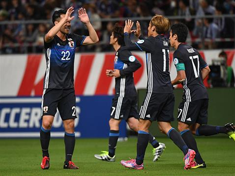 Yoshida scored twice in Japans 7-2 victory over Bulgaria in the Kirin Cup