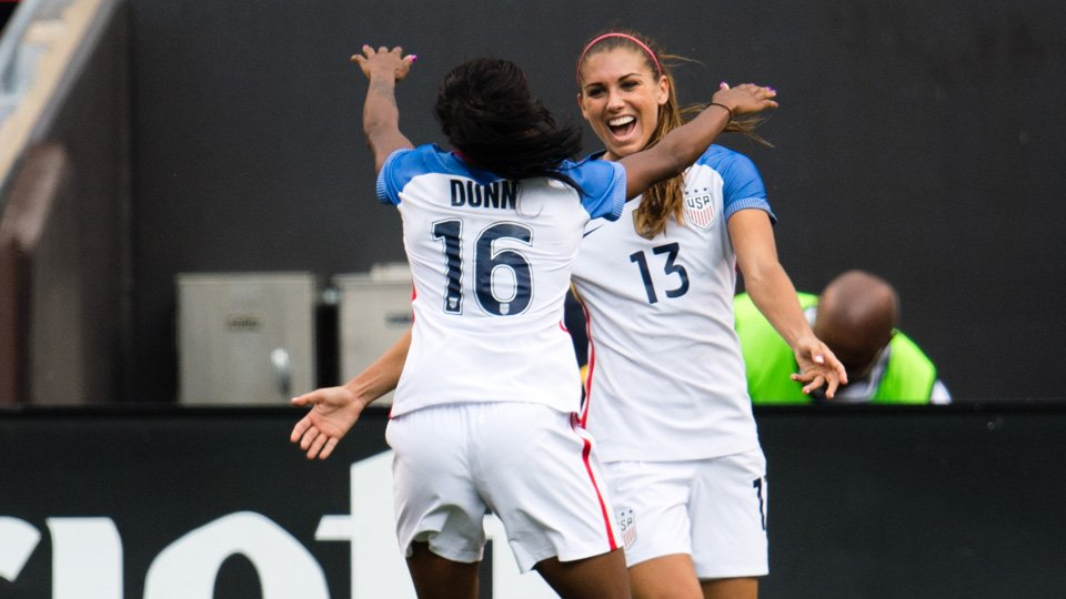 #USWNT's #RoadToRio continues July 9 in Chicago vs South Africa in one of two send-off games