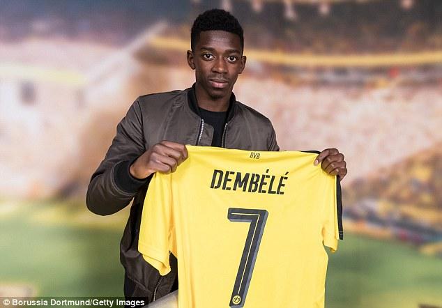 Ousmane Dembélé BVB