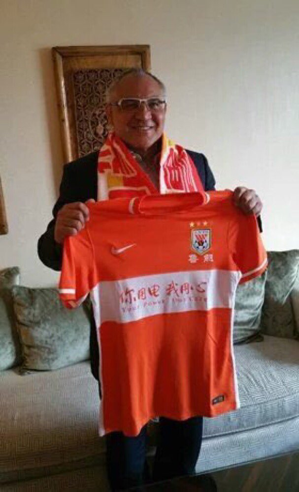 Felix Magath is back! After being sacked by Fulham he has taken over at Chinese Super League club Shandong Luneng