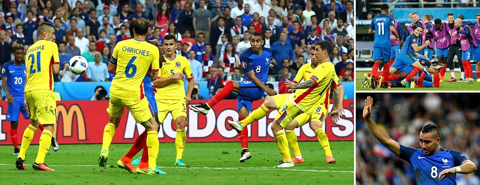 Perfect Payet steals the show as playmaker curls home last-gasp beauty and hosts make winning start to Euros after nervy opener