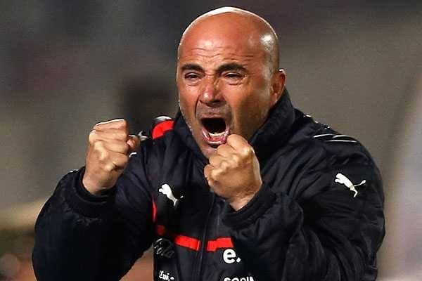 Sampaoli led to Chile to the Copa America title in 2015
