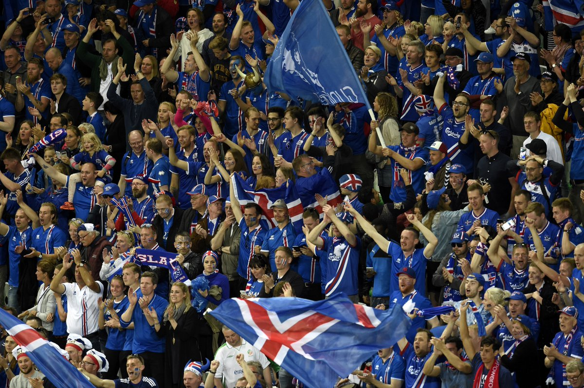 There are 27,000 Iceland fans in Marseille, thats around 8 of the entire population