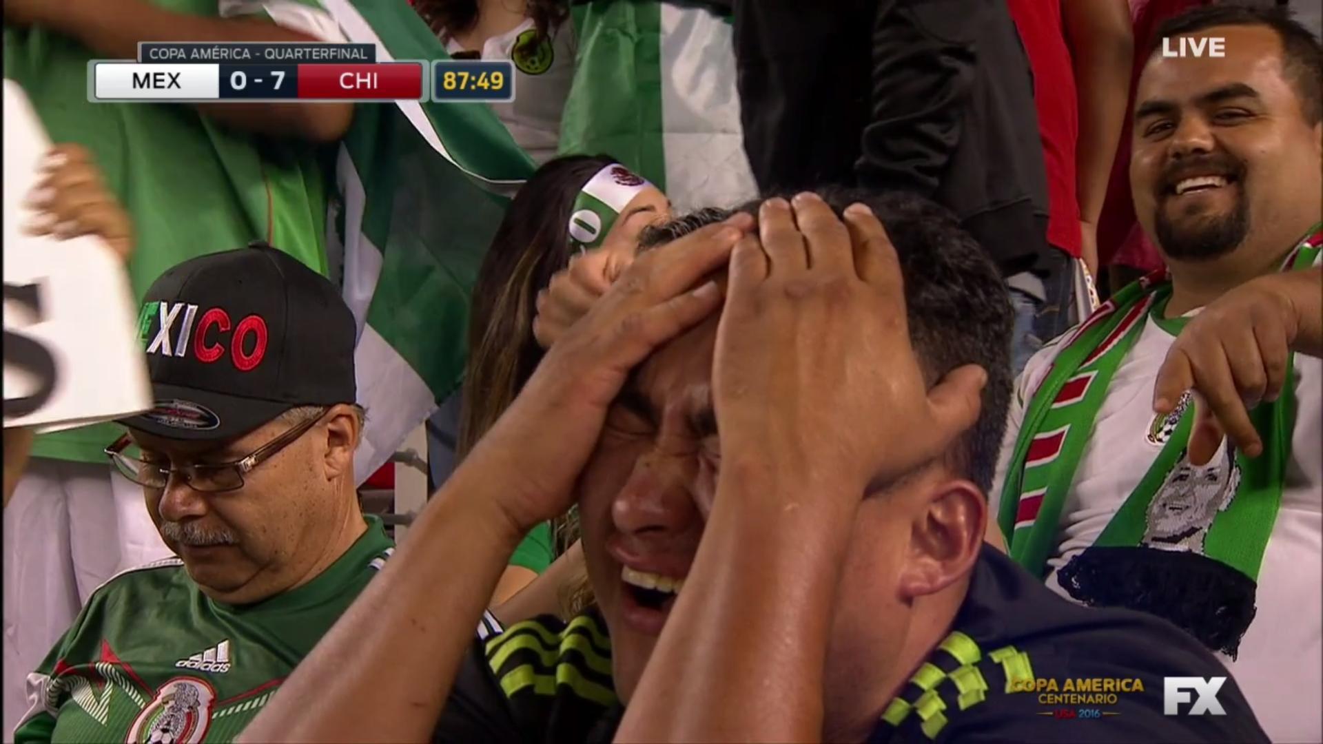 Mexico 0-7 (SEVEN) Chile
