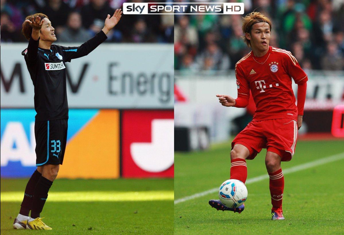Takashi Usami spielte in der Bundesliga bereits für Hoffenheim und den FC Bayern