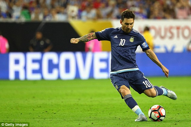 Messi made Wondolowski pay for his foul by scoring from the 25-yard set-piece to double their lead