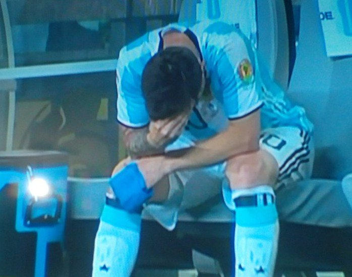 Messi right now #CA2016