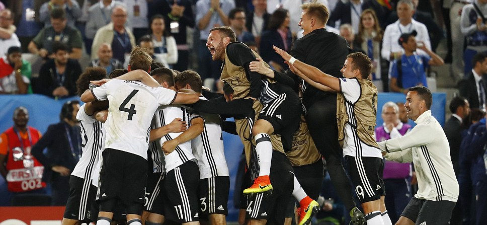 Germany FINALLY beat Italy But it takes dramatic shootout to separate tournament heavyweights with Hector holding his nerve