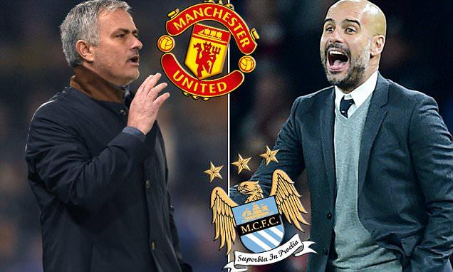 Mourinho pep manchester